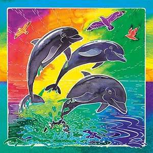 Ravensburger, Mixxy Colors, Welt der Delfine, Malen nach Zahlen (Prime)