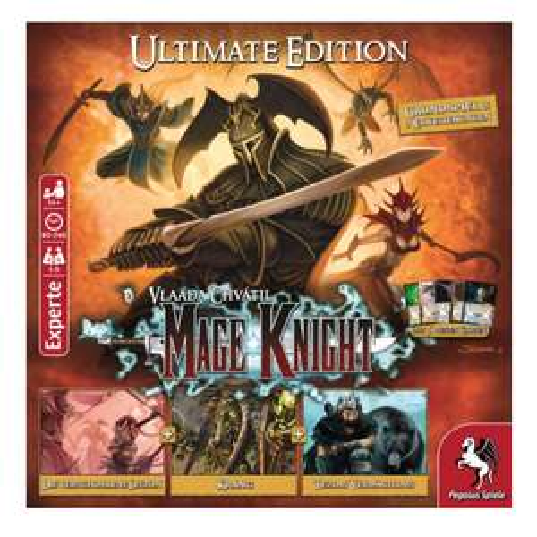 Mage Knight Ultimate Edition (13% GS + 6% Shoop) Gesellschaftsspiel / Brettspiel