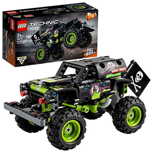 [amazon | prime] LEGO 42118 Technic Monster Jam Grave Digger Truck-Spielzeug oder Geländewagen Buggy, 2-in-1 Bauset (UVP -31%)