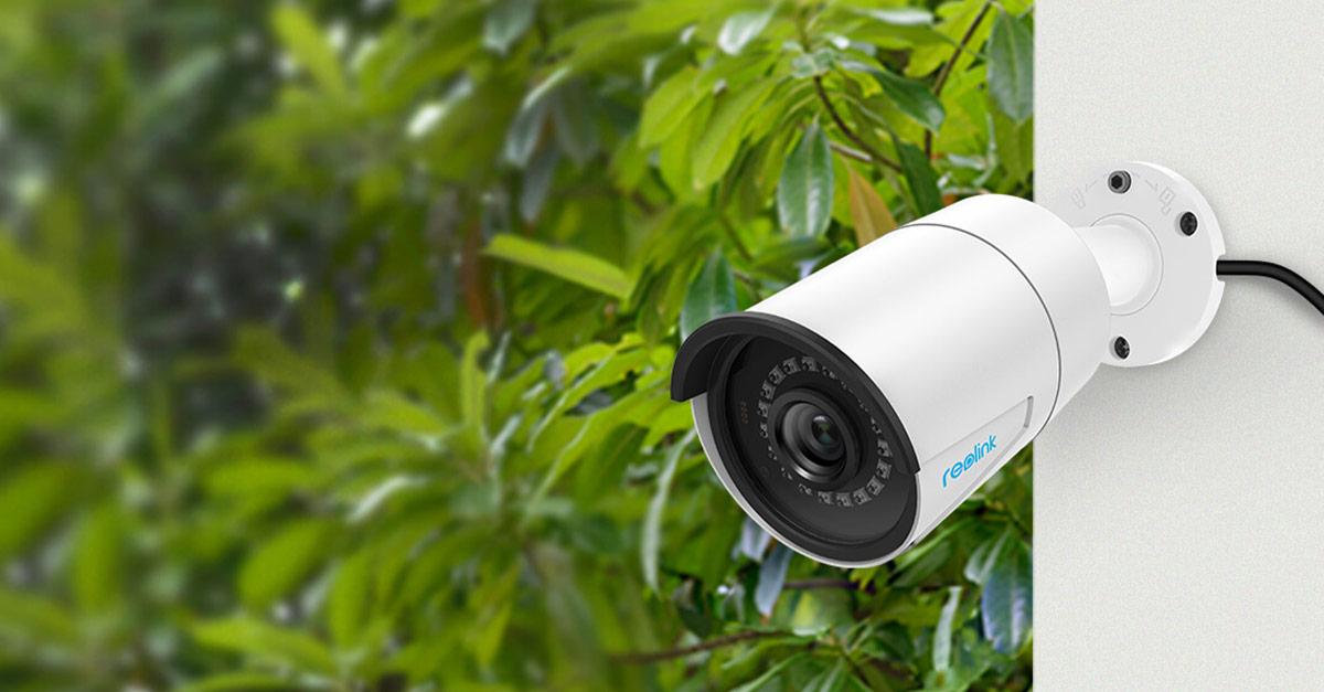 (Zusatzkamera) Reolink B400 PoE IP Kamera 4MP HD Bullet Überwachungskamera IP66 mit Audio und IR Nachtsicht für Innen und Außen