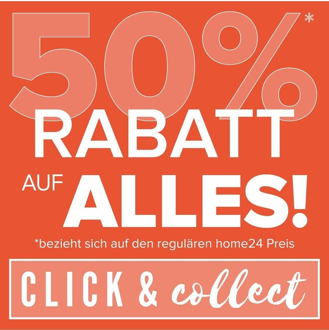 home24 Outlet – 50% Rabatt auf Alles (lokal in Hannover & online)