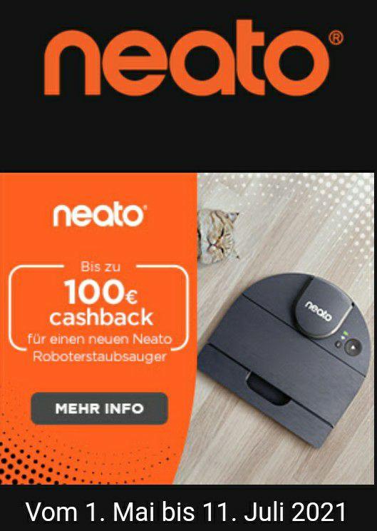 100€ Cashback beim Kauf eines Neato D8 Saugroboter