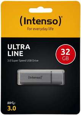 Intenso Ultra Line USB Stick 3.0 32GB Speicherstick Silber