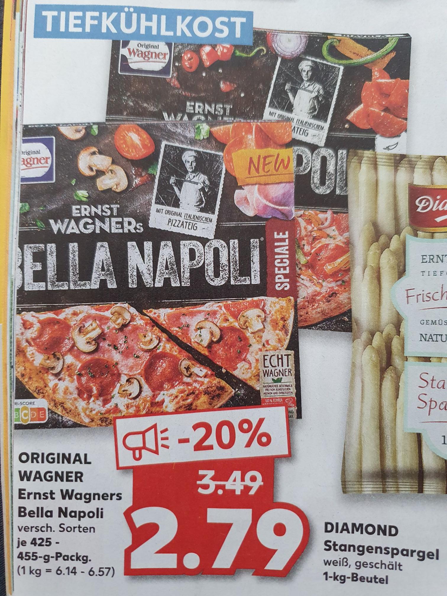 (Kaufland | Leipzig) Bella Napoli Pizza, versch. Sorten [effektiv 1,79€ mit Coupon]