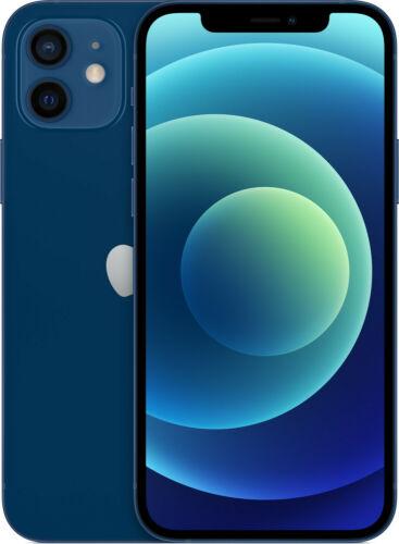 "Apple iPhone 12 64GB Blau Blue 5G 6,1"" 12MP IOS Smartphone MGJ83ZD/A A2403 NEU"