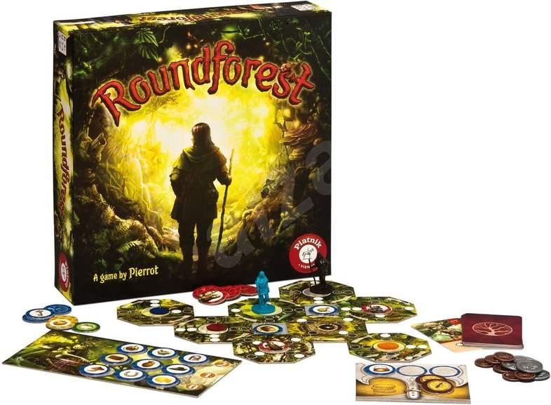 Brettspiel Piatnik Roundforest (2-4 Spieler, ab 8 Jahren)