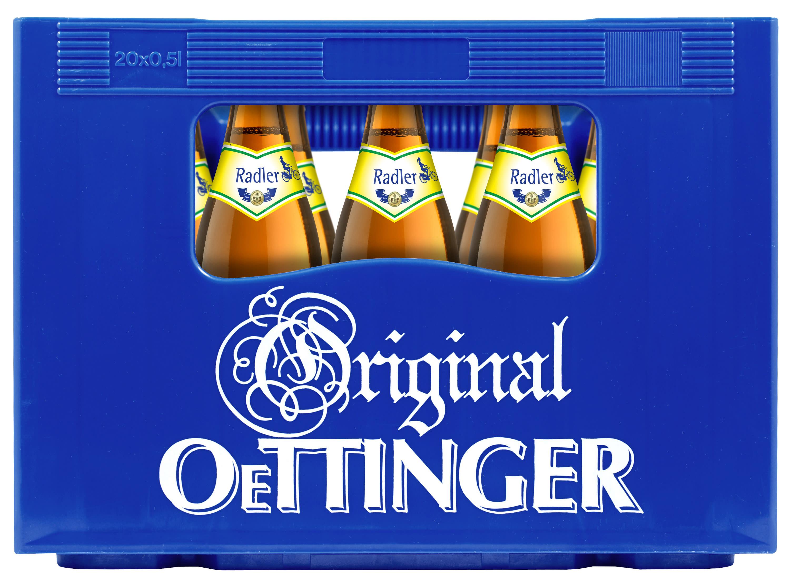 Oettinger Radler Kasten für 1,48€ [Kaufland] lokal Teltow Bier