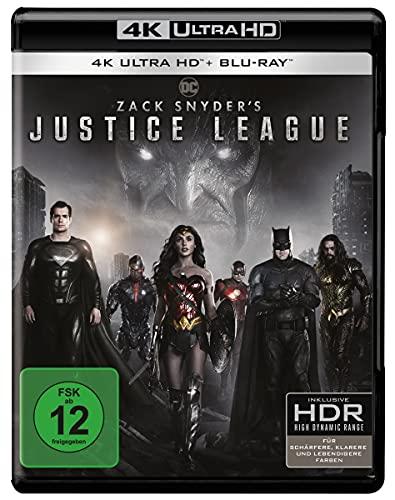 [amazon.de Prime oder Abholung] Zack Snyder's Justice League (4K Ultra HD) [Blu-ray] Vorbestellung zum 27. Mai 2021