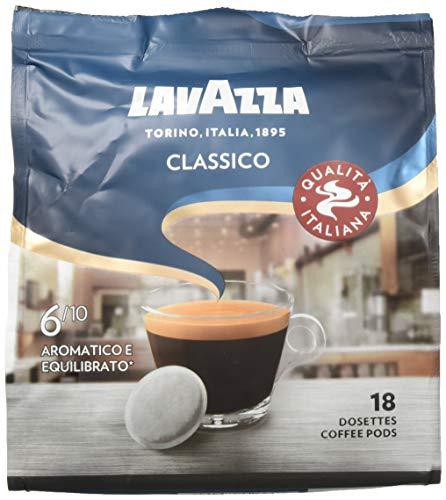 Amazon Prime: 10 Päckchen Lavazza Kaffee Pads - Classico - 180 Pads , jeder der 10 Beutel enthält 18 Pads