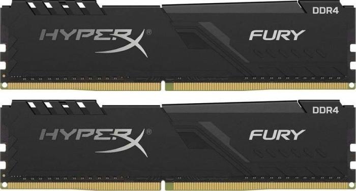 Kingston HyperX Fury schwarz DIMM Kit 16GB, DDR4-3600, CL17-21-21