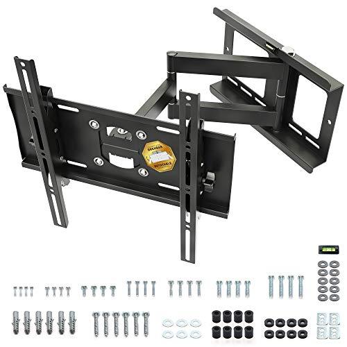[Amazon] RICOO TV Wandhalterung | Schwenkbar | Neigbar | (R23-S) Universale TV-Halterung für 31-65 Zoll (bis zu 95-Kg, Max-VESA 400x400 mm)