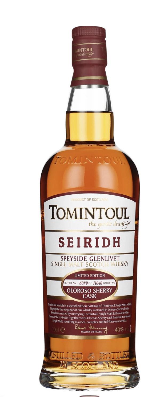 Tomintoul Seiridh Oloroso Sherry Cask Single Malt Whisky 40.0% 0,7l