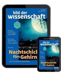 Bild der Wissenschaft Abo (14 Ausgaben) Digital für 88,80€ mit 85€ BestChoice | Print für 116,66€ mit 100€ BC-Gutschein (Kein Werber nötig)
