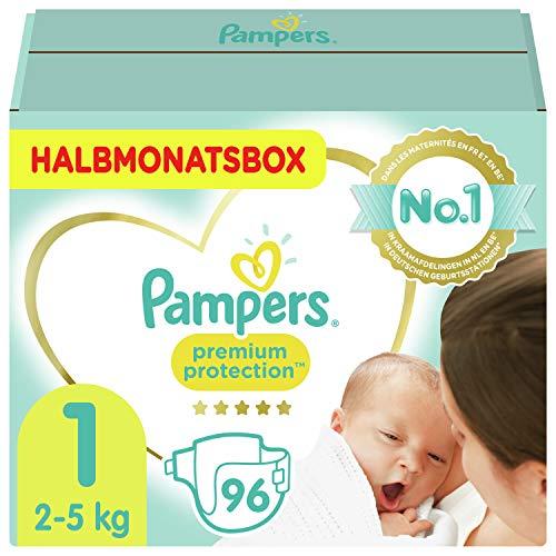 Amazon Sparabo: Pampers 1Premium Protection (2-5kg) 96 Windeln - Versand kostenlos mit Prime