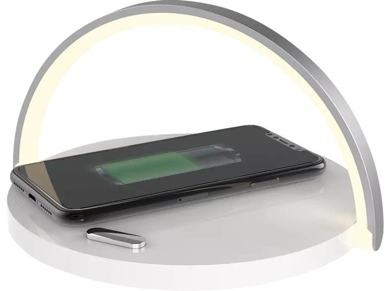 [Marktabholung MediaMark/ Saturn] PLATINET Dimmbare LED Lampe Induktive Ladestation