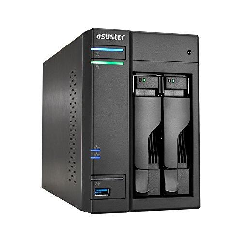 [Amazon.es] Asustor AS6302T 2-Bay NAS System (2GB RAM, Gigabit-LAN mit Link-Aggregation, HDMI 2.0, HotSwap, Raid 0, 1, JBOD)