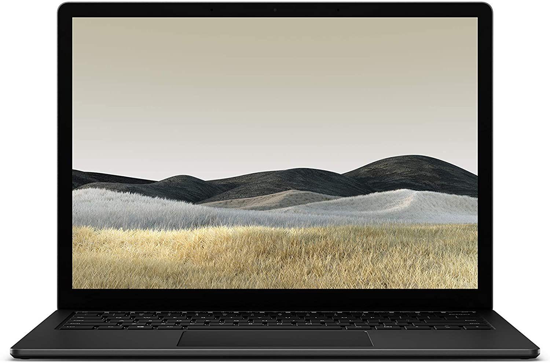 "Microsoft Surface Laptop 3 Mattschwarz (13,5"" Multi-Touch, 2256x1504, Intel Core i5, 8GB RAM, 256GB SSD, USB-C, Win 10 Home) [ES-Layout]"