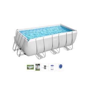 Bestway Frame Pool Power Steel Set 412 x 201 x 122 cm ab 10.5. @ Centershop (Abholung)