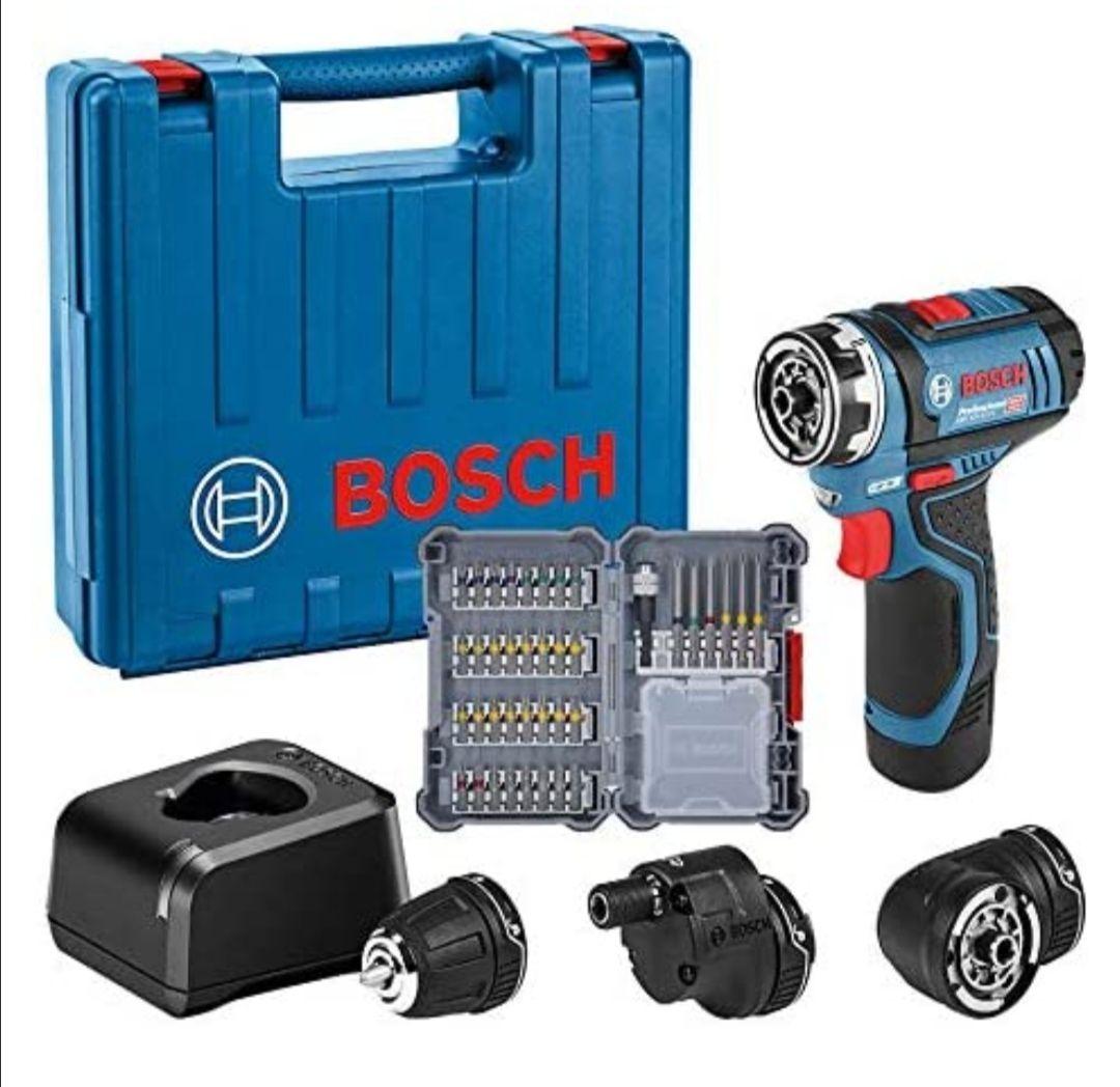 Bosch Professional 12V System Akku-Bohrschrauber GSR 12V-15 FC