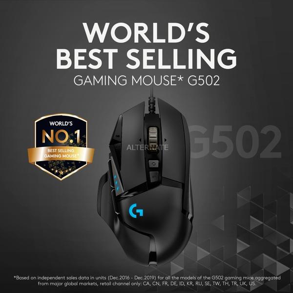 Logitech G502 Hero Gaming Maus - Alternate & Amazon