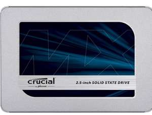 Crucial MX500 - 500GB - TLC 3D - DRAM - Frustration Free pack