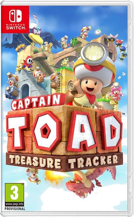 Captain Toad: Treasure Tracker - [Nintendo Switch] Pegi
