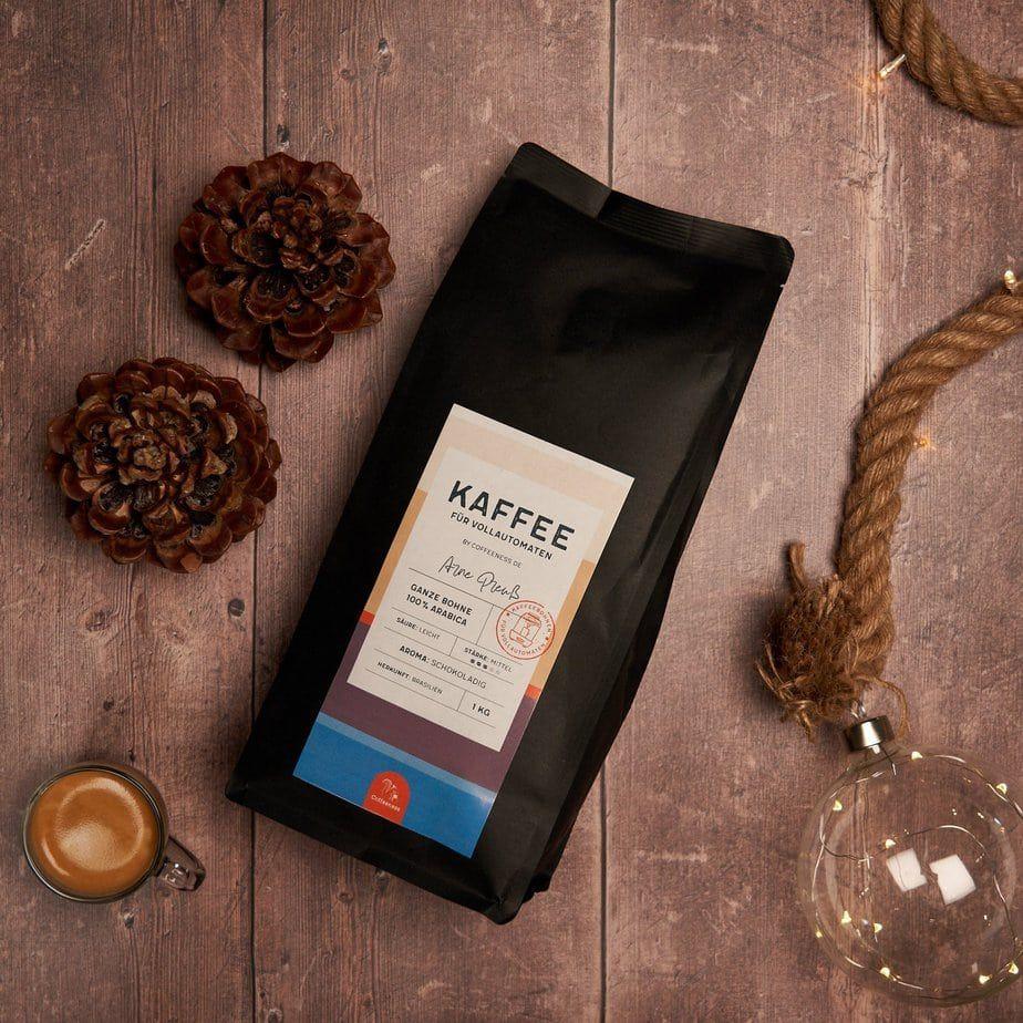 Kaffee für Vollautomat, Espresso Bohnen Bio und Fairtrade
