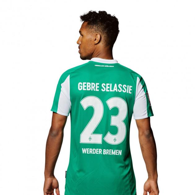 Kostenfreier Flock aufs Werder Bremen Trikot
