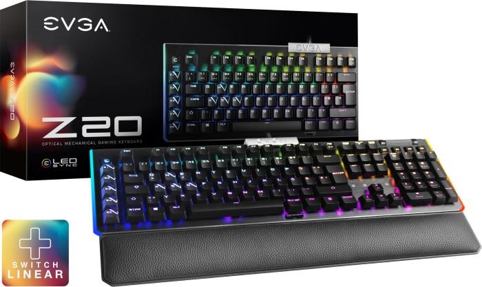 50% auf diverse Tastaturen, Mäuse, Kühler und Capture Devices, z.B. EVGA Z20 Gaming Keyboard