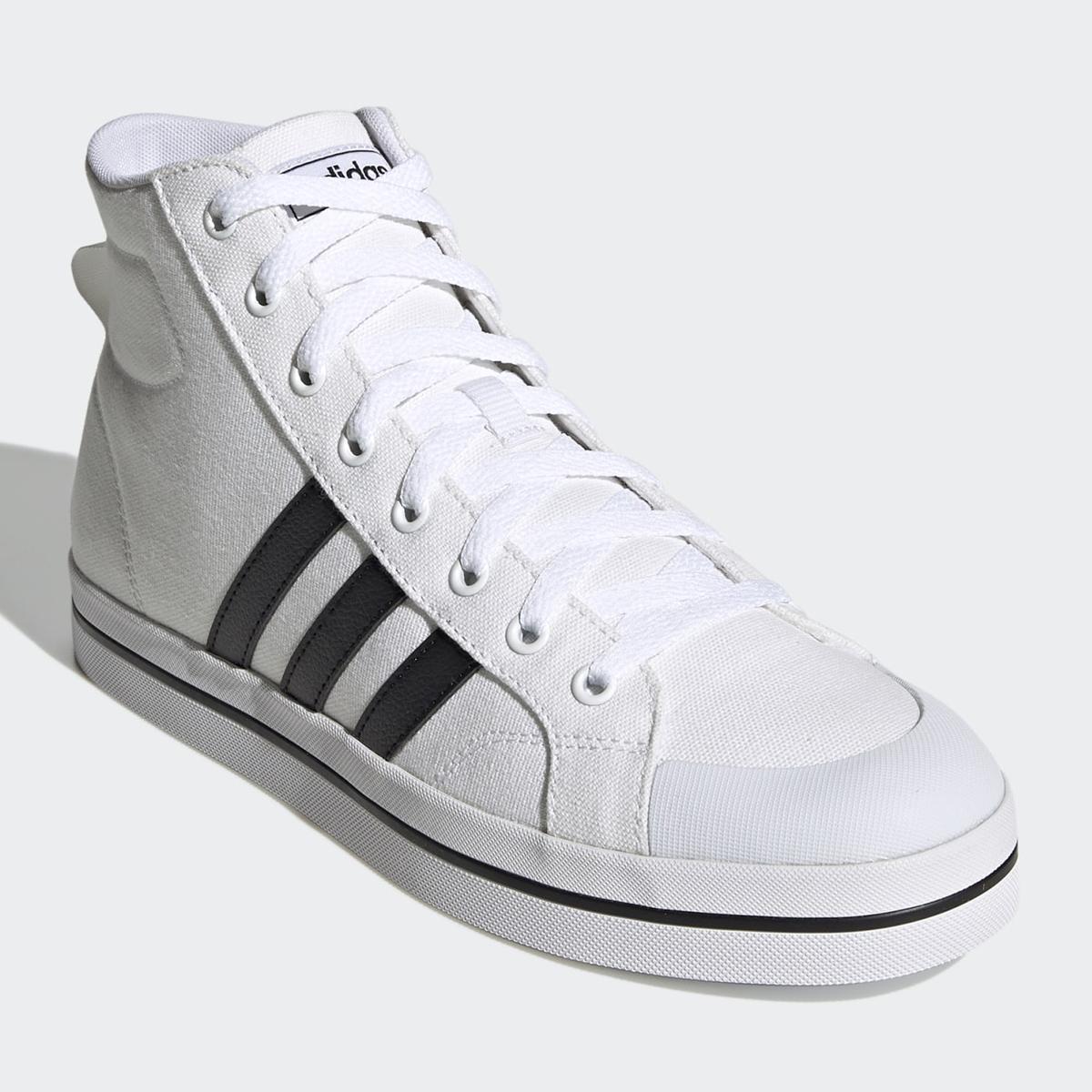 adidas Sneaker Bravada Mid in weiß/schwarz (Gr. 39 1/3 - 37 1/3)