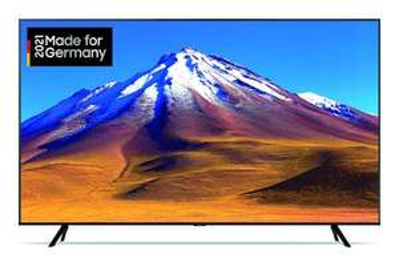 Samsung GU55TU6999UXZG LED TV (55 Zoll (138 cm), 4K UHD, Smart TV, Sprachsteuerung (Google Assistant, kompatibel mit Alexa))
