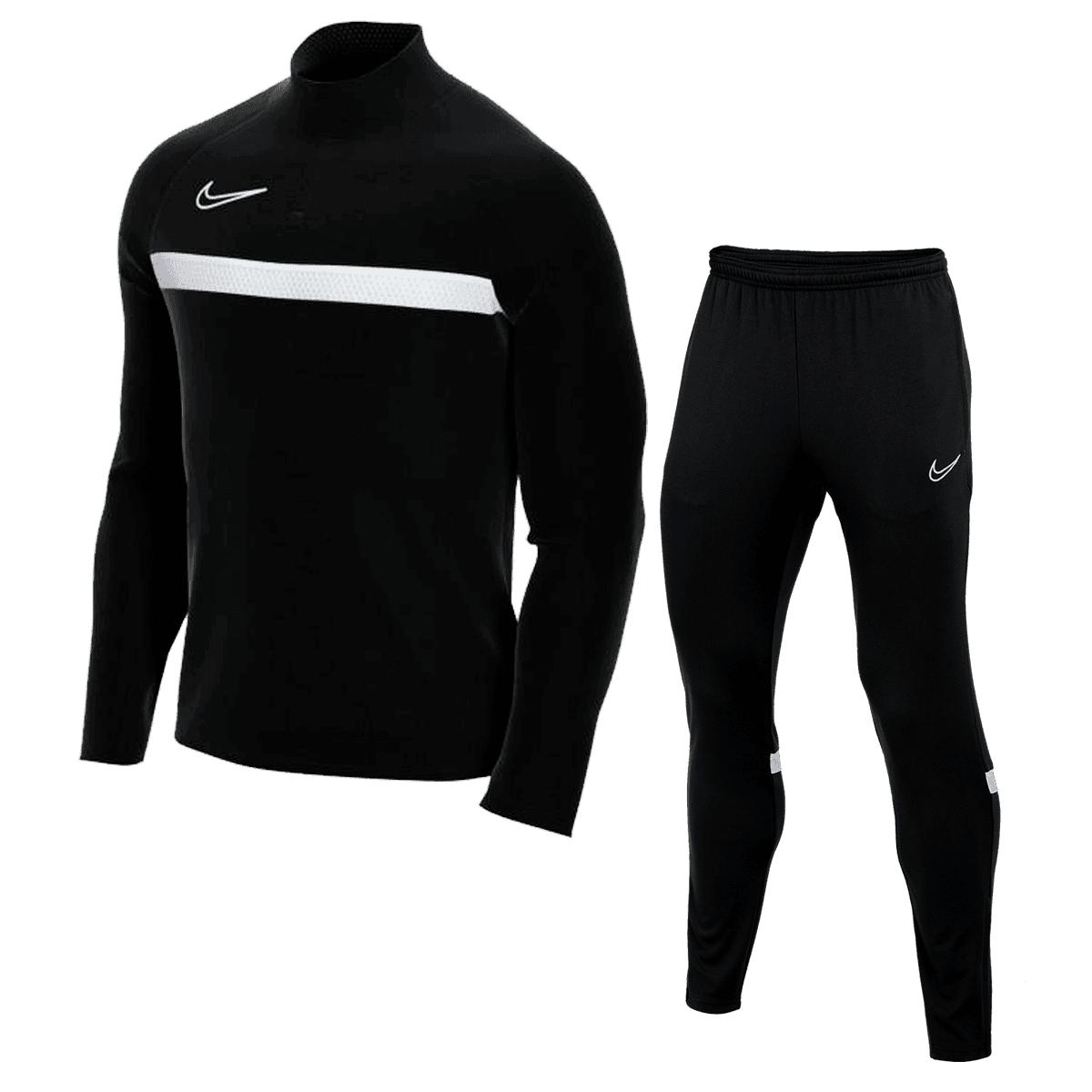 Nike Trainingsanzug Academy 21 (bestehend aus Trainingsjacke und Trainingshose, Gr. S - XXL, 10 verschiedene Farben)