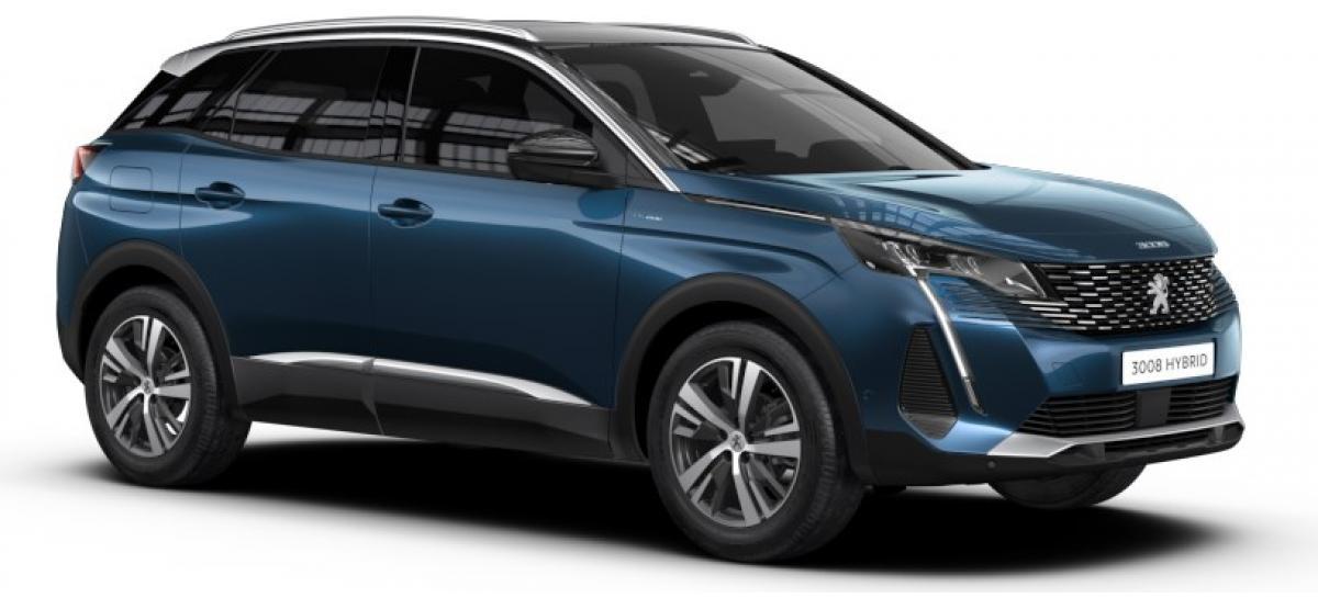 Privat- & Gewerbeleasing: Peugeot 3008 Roadtrip HYBRID 225 e-EAT8 ab 99€ brutto/Monat LF:0,22