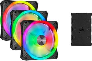 [Amazon] Corsair iCUE QL120 RGB Lüfter 3er Pack
