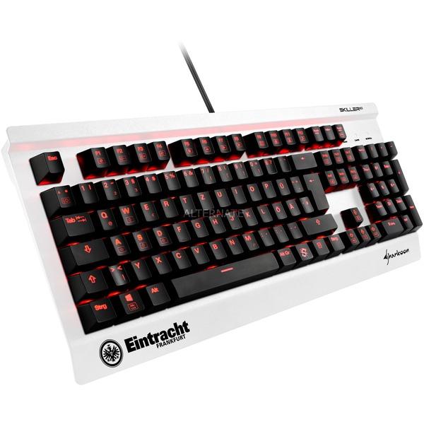 Sharkoon Mechanische Gaming-Tastatur SKILLER MECH SGK3 Eintracht Frankfurt Sonderedition [ALTERNATE]