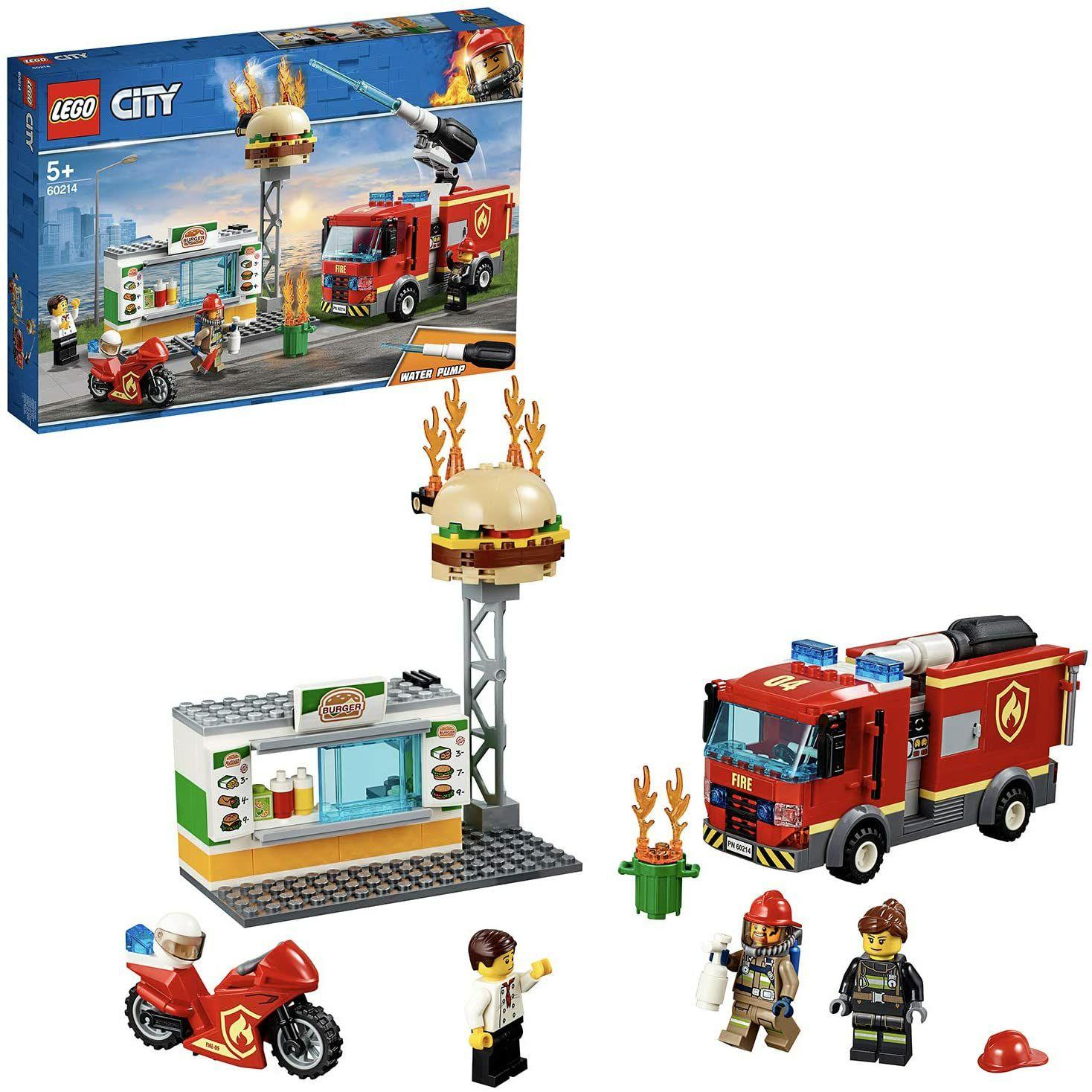 [Prime] LEGO City 60214 Feuerwehreinsatz im Burger-Restaurant