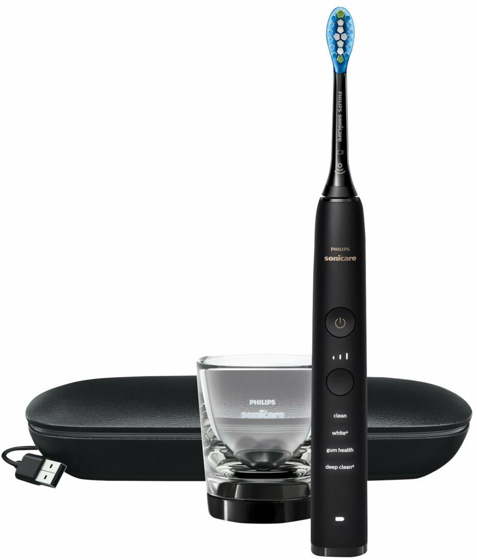 Philips-Zahnbürsten: z.B. HX9911/09 Sonicare DiamondClean 9000 Schallzahnbürste für 159€