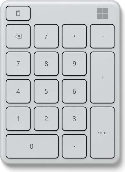 Microsoft Mäuse & Tastaturen: z.B. Wireless Number Pad - 21,99€ | Designer Compact Keyboard - 49€