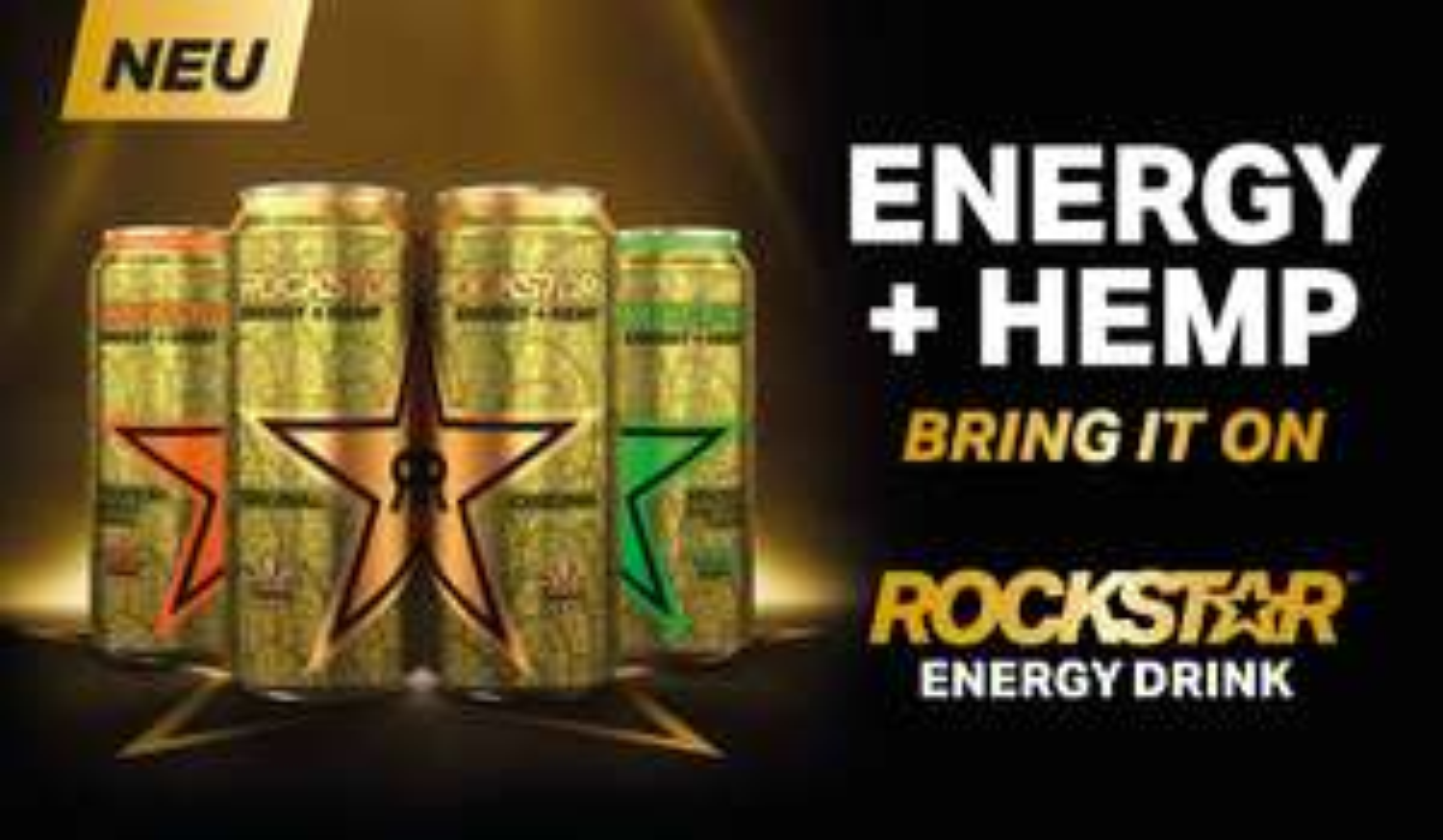 Edeka Hessenring: 2 Dosen Rockstar Energy Drink mit Coupon für 88 Cent, verschiedene Sorten in der 0,5 Liter Dose,excl. Pfand je 25 Cent