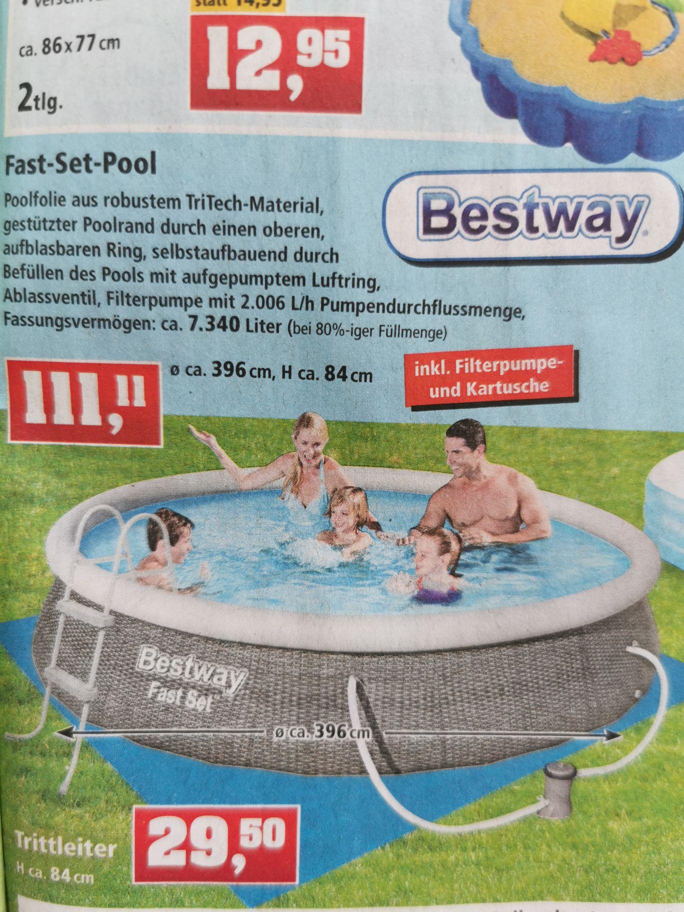 Bestway Fast-Set-Pool 396x84cm