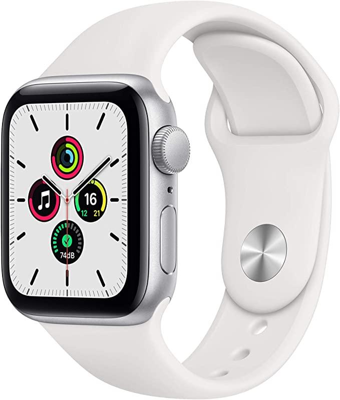 Apple Watch SE Silber 40mm Sportarmband Weiß für 249,22€ inkl. Versandkosten