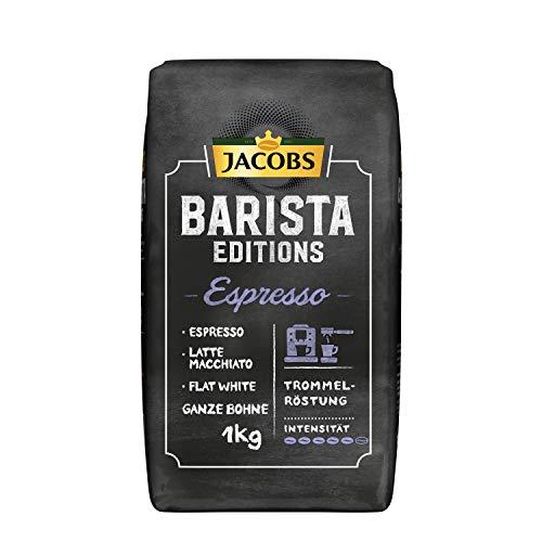 [Prime Sparabo] Jacobs Kaffeebohnen Barista Editions Espresso, 1 kg Bohnenkaffee