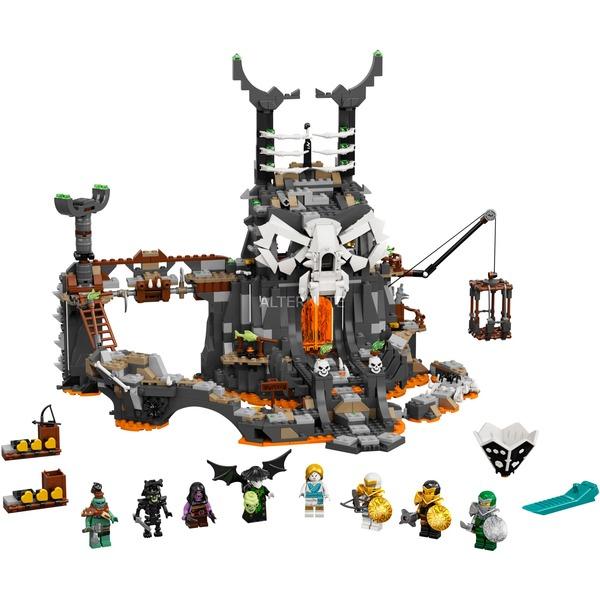 LEGO 71722 Ninjago Verlies des Totenkopfmagiers