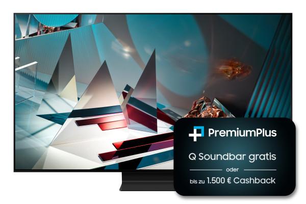 Samsung GQ65Q800TGT (abzgl. 600 EUR Cashback von Samsung oder Soundbar HW-Q800t