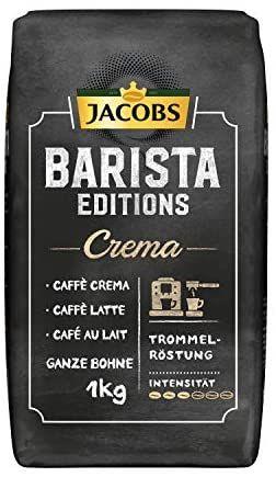 1kg Jacobs Kaffeebohnen Barista Editions Crema durch 5 für 4 Aktion 5,19€/kg- Prime*Sparabo*