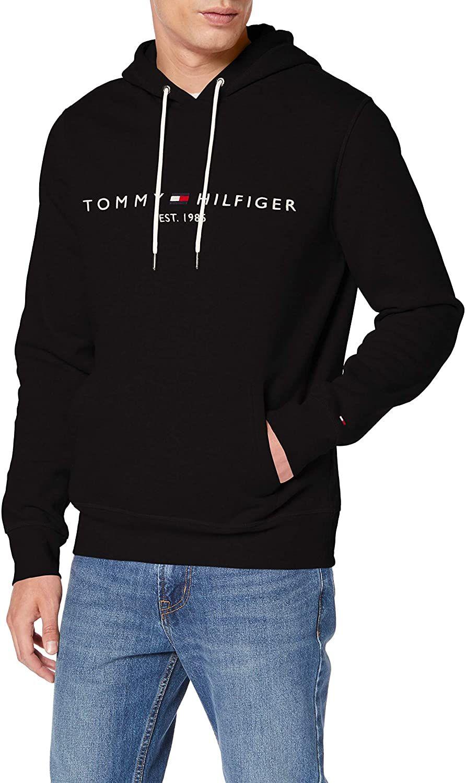 Tommy Hilfiger Logo Flex Fleece Hoody (XS-3XL) [Amazon]