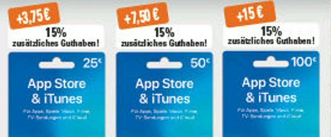 Trinkgut: 15% extra Guthaben auf App Store & iTunes Karten ab 25€ / Haribo (175/200g) für 0,65€