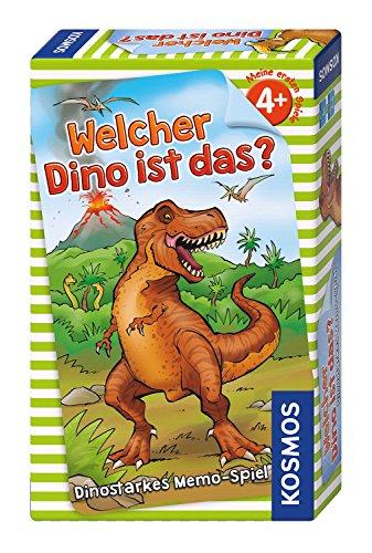[amazon PRIME] KOSMOS Memory/Kinderspiel/Gesellschaftsspiel Welcher Dino ist es? (2-4 Spieler ab 4 Jahren, Dauer ~15 Minuten) zum Bestpreis