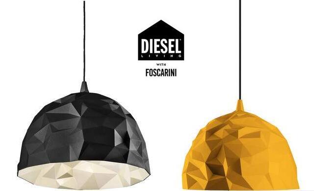 Diesel with Foscarini Design Pendelleuchte Rock (In gold oder schwarz verfügbar) [iBOOD]