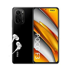 "Xiaomi Poco F3 (6.67"", 2400x1080, AMOLED, 120Hz, SD870, 6/128GB, 5G, 48MP, 4520mAh, 33W, Fingerprint seitlich, NFC, Stereo-LS, 196g)"